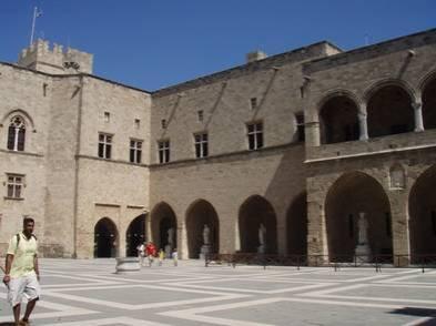 palais des Maitres chevaliers Hospitaliers