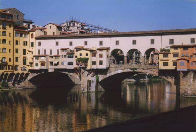 Ponte vecchio sur l'Arno