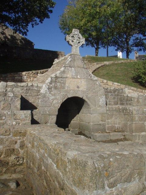 Fontaine à Saint Cado