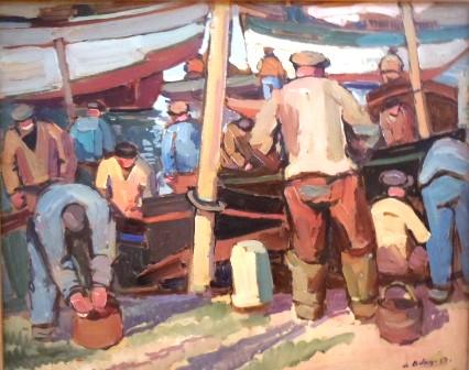 De Belay : pêcheurs de Concarneau