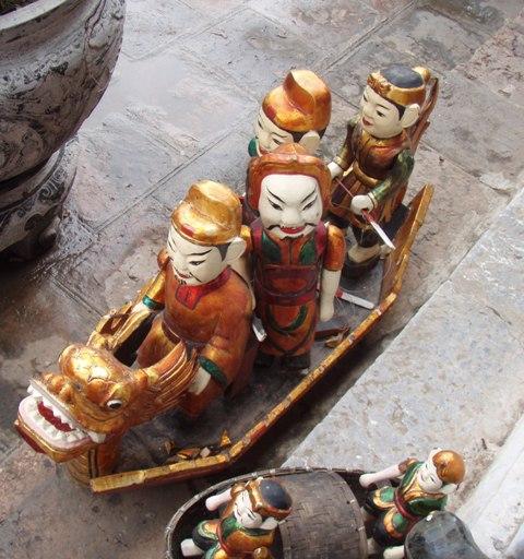 marionettes aquatiques