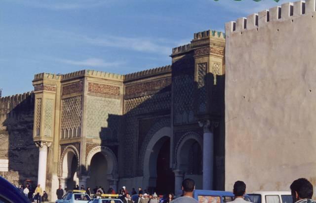 Meknès : porte
