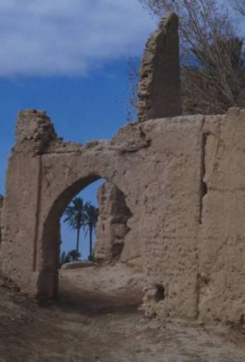 Les ruines de Sijilmassa