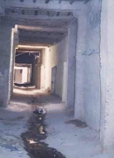 Rissani : couloirs, passages couverts et secrets