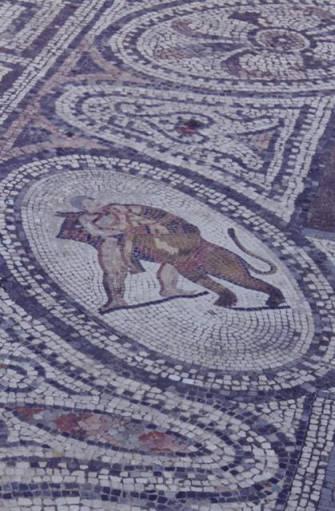Travaux d'Hercule le lion de Némée