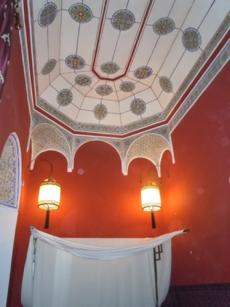 merveilleux plafond peint