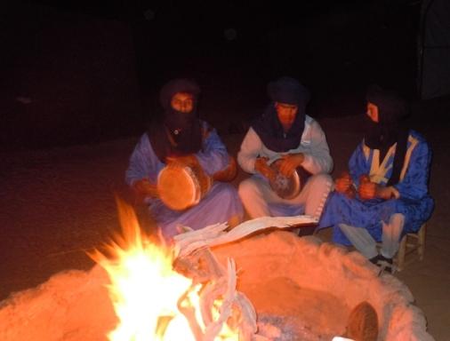 Mohamed, Najji et Omar