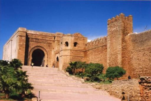 Porte de la casbah des Oudaias