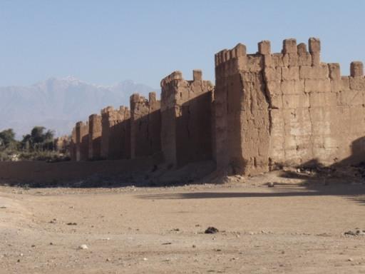 les murailles de Taroudant