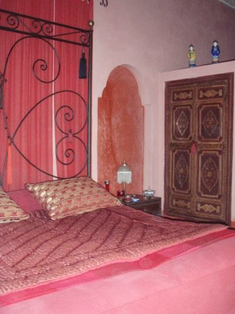 Marrakech, la chambre rouge