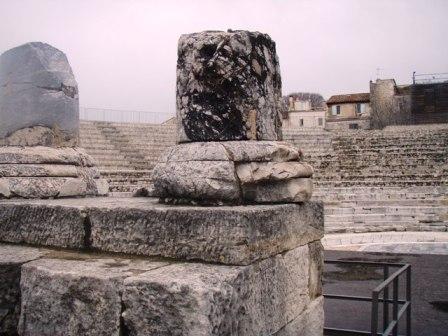 il pleut sur Arles