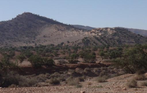 Agadir dans la montagne