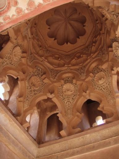 Intérieur de la kouba almoravide