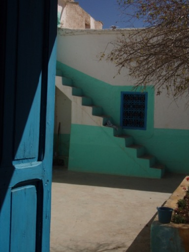 cour de maison villageoise