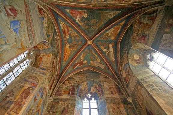 Plafond de la Chapelle saint Jean (via Wikipedia)