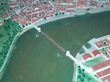 Arelate, ville romaine construite sur les deux rives du Rhône