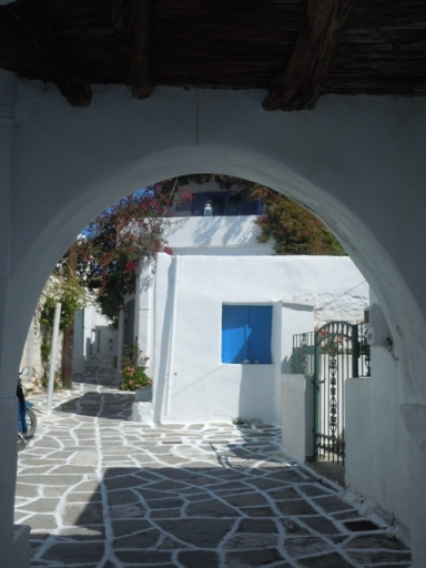les ruelles et les arches de Prodromos