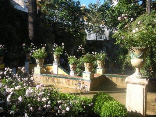 le jardin magique de la casa de pilatos