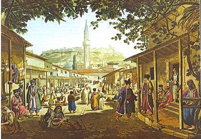 Evleya marché d'Athènes