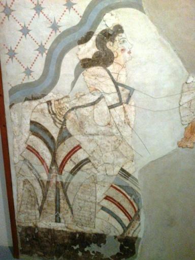 les fresques de la maison des dames