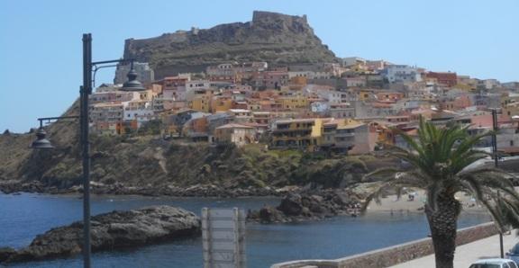 Castelsardo vu du port