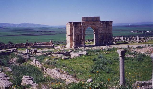 volubilis, ruines antiques