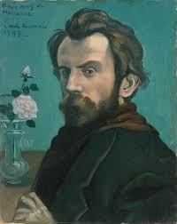 Emile bernard autoportrait