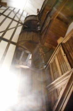 l'escalier de bois