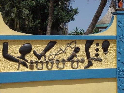 Sur la route de l'esclave à Ouidah Bénin