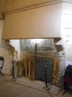 la cheminée de la cour manoiriale