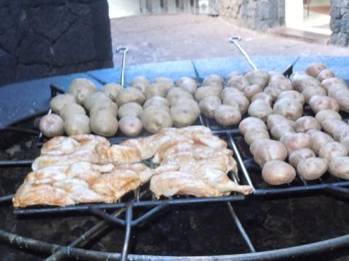 Barbecue géothermique