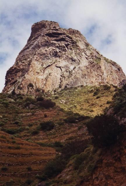 Roque Cano le lendemain avec le retour du soleil