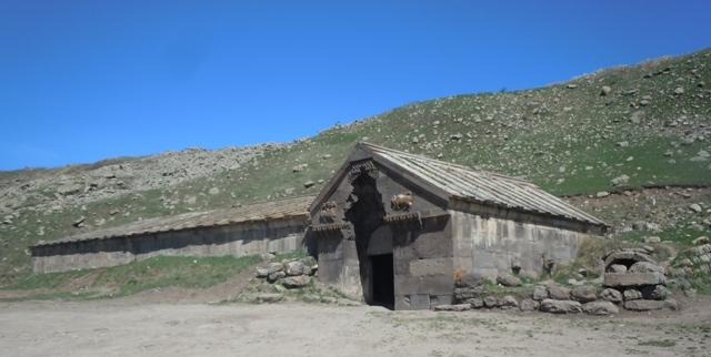 caravansérail sur la route de la soie (Arménie)