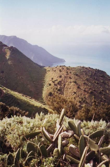 retour du soleil entre Vallehermoso et Agulo