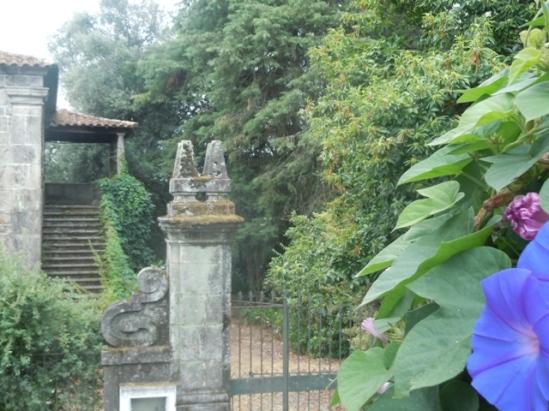 maisons de granite à Sao Sebastiao de Briteiros