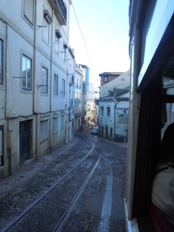 A bord du tram!