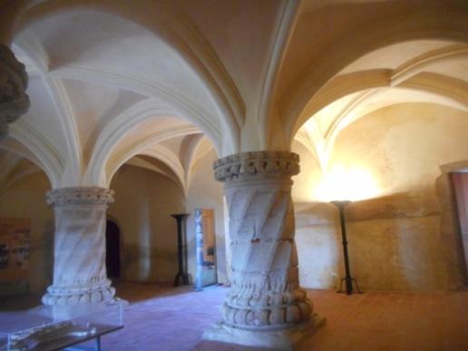 Salle du château d'Evoramonte