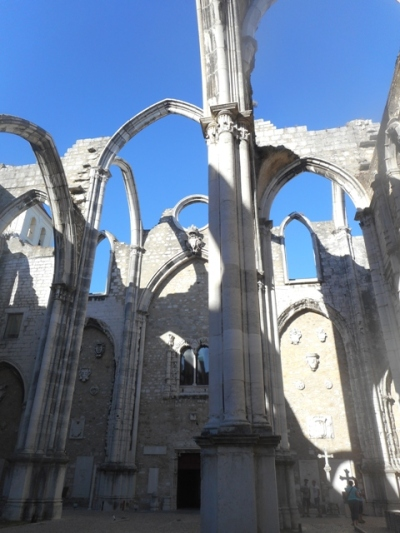 Les ruines les plus romantiques de Lisbonne!