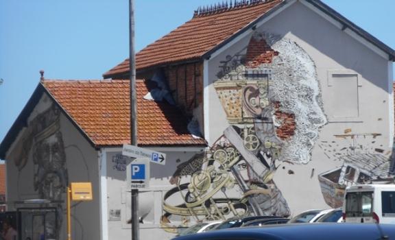 Sur les bords du Tage : street art