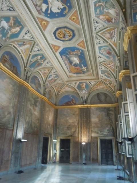 La loggia de Galatea au plafond l'horoscope de chigi