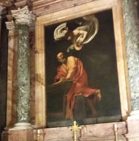 Saint Mathieu à San Luigi dei Francesi
