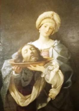 Guido Reni : Salomé et la tête de saint Jean Baptiste