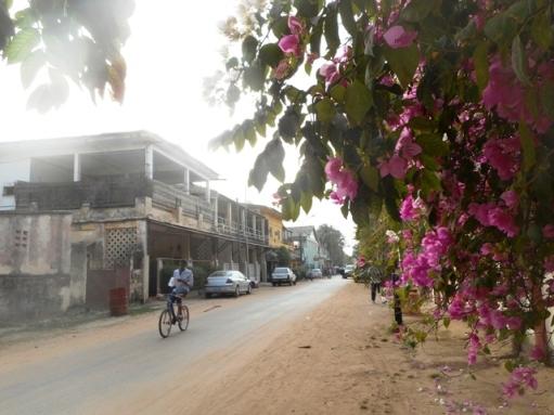 Ziguinchor : rue commerçante