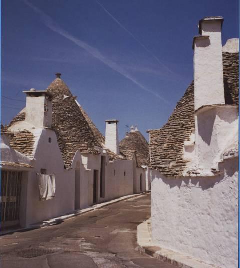 trulli à Alberobello