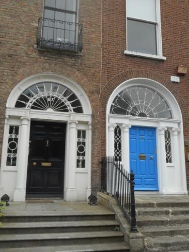 les portes de Merrion square