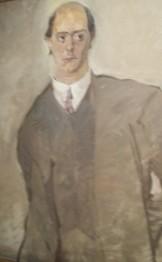 Schönberg peint par Egon Schiele