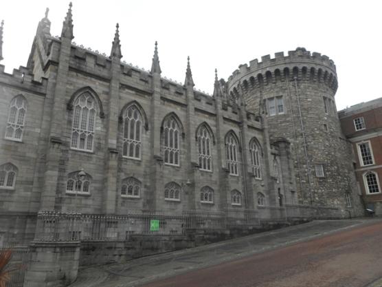 Château de Dublin : chapelle néo-gothique