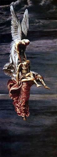 La mort et le sommeil portant Sarpédon