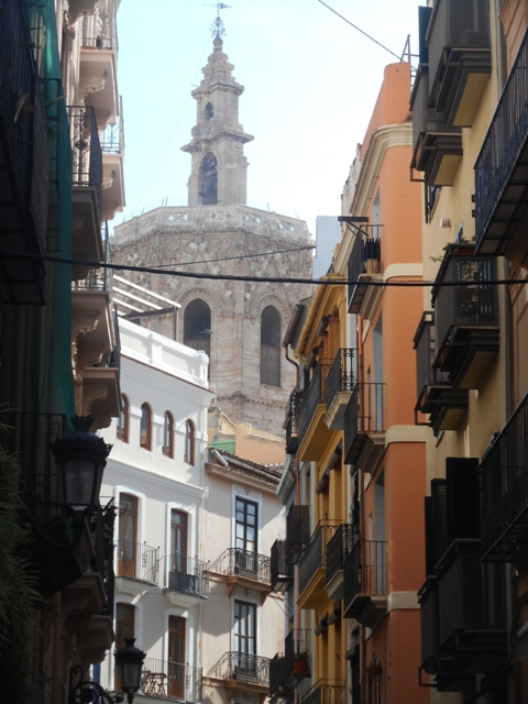 Rues étroites de Valence