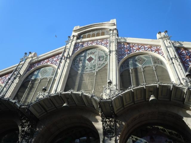 marché central : façade
